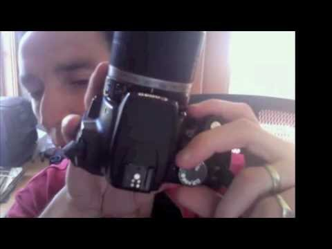 Canon Rebel XT Tutorial for Beginners, Part 1