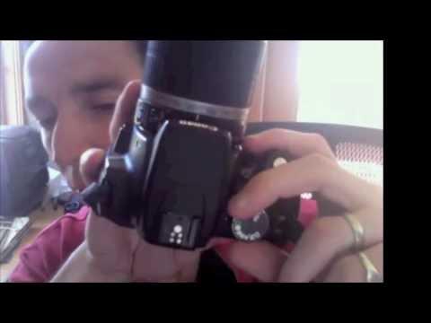 Canon Rebel XT Tutorial for Beginners, Part 1