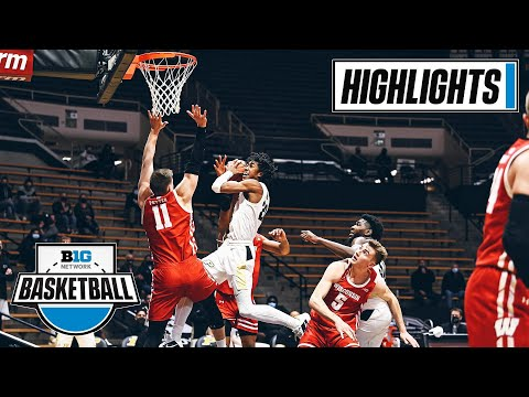 Wisconsin at Purdue | Close Game in West Lafayette | March 2, 2021 | Highlights