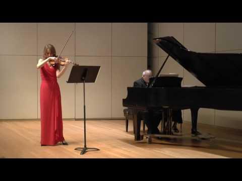 Clara Schumann, Three Romances for Violin and Piano op.22, #1 Andante molto