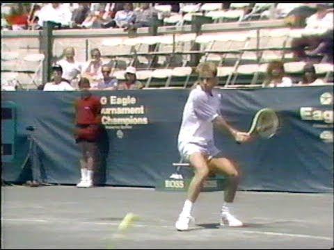 Krickstein vs Agassi Forest Hills 1989