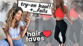 Try-On Haul! ...and fails + Hair Faves and college road trip?? ?