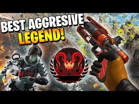 This Is ONE Of THREE Best Legends For Aggressive Players In Ranked! (Apex Legends)