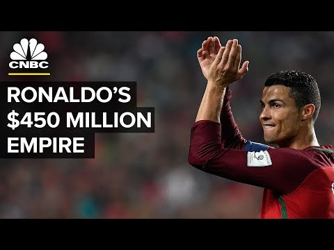 Cristiano Ronaldo Is Worth $450 million - Here's How