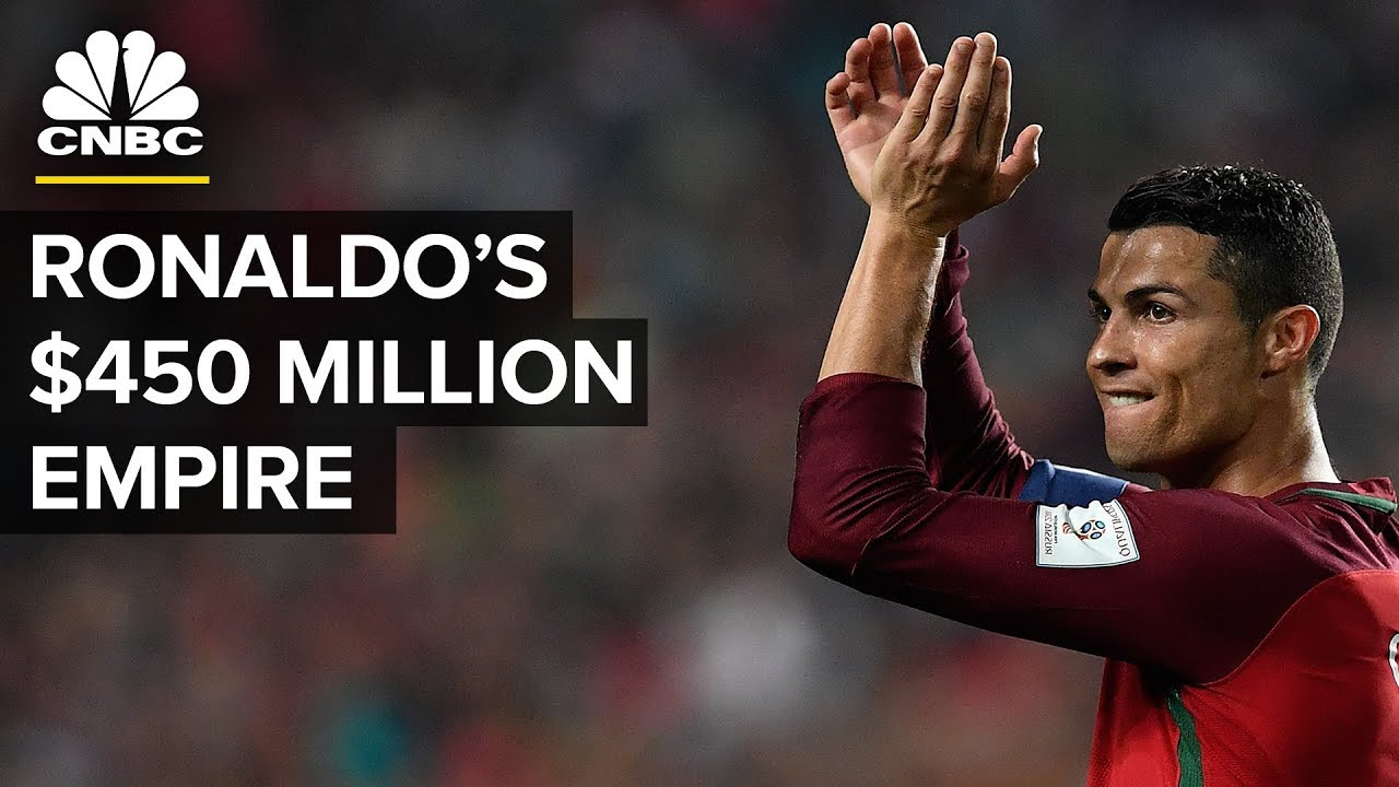 Cristiano Ronaldo Is Worth $450 million - Here's How