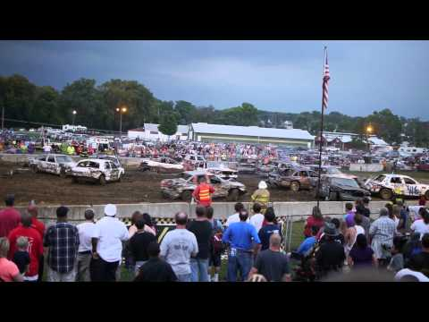 Demolition Derby Hamilton County Fair Cincinnati OH 08/10/2013 Part IV