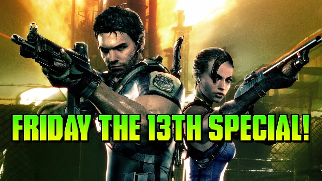 Resident Evil 5 Friday The 13th Special Stream Coop W Okami Youtube