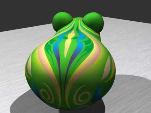 Diffusion Curve Textures for Resolution Independent Texture Mapping