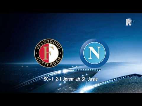 Zo klonk Feyenoord-Napoli (2-1) op Radio Rijnmond!