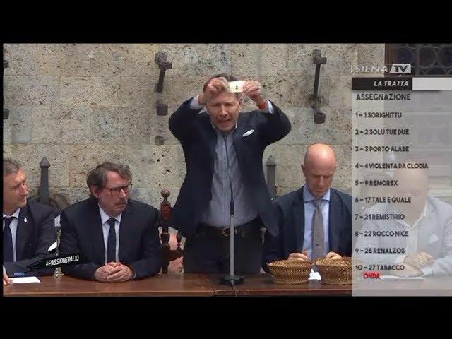 ASSEGNAZIONE CAVALLI PALIO LUGLIO 2019