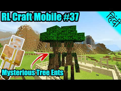 Rl Craft Mobile 37 Mysterious Tree Ents Zeus Minecraft Pe In Hindi Youtube