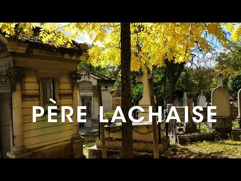 Visiting Pere Lachaise and Receiving Criticism