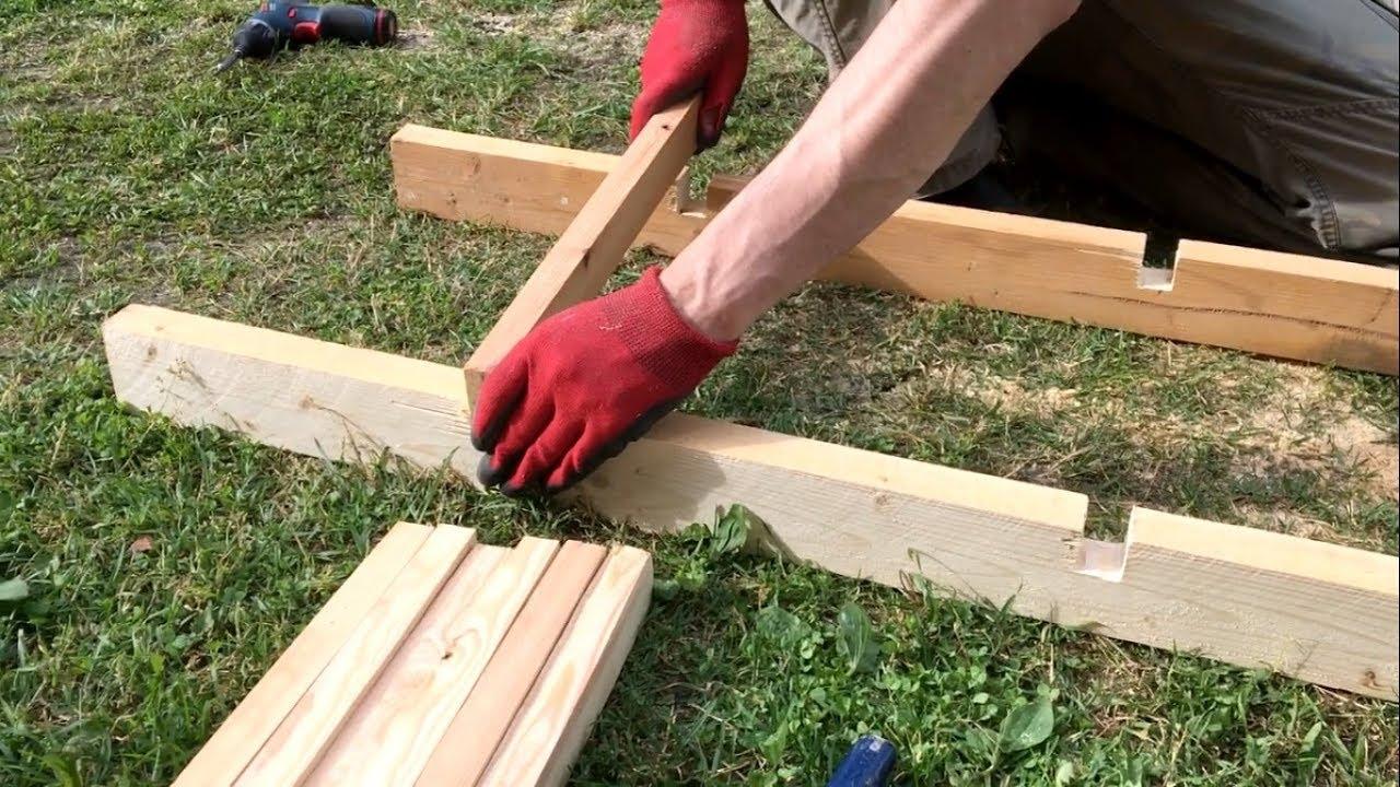 ✔ Оцени! Деревянная лестница за 30 минут с помощью болгарки