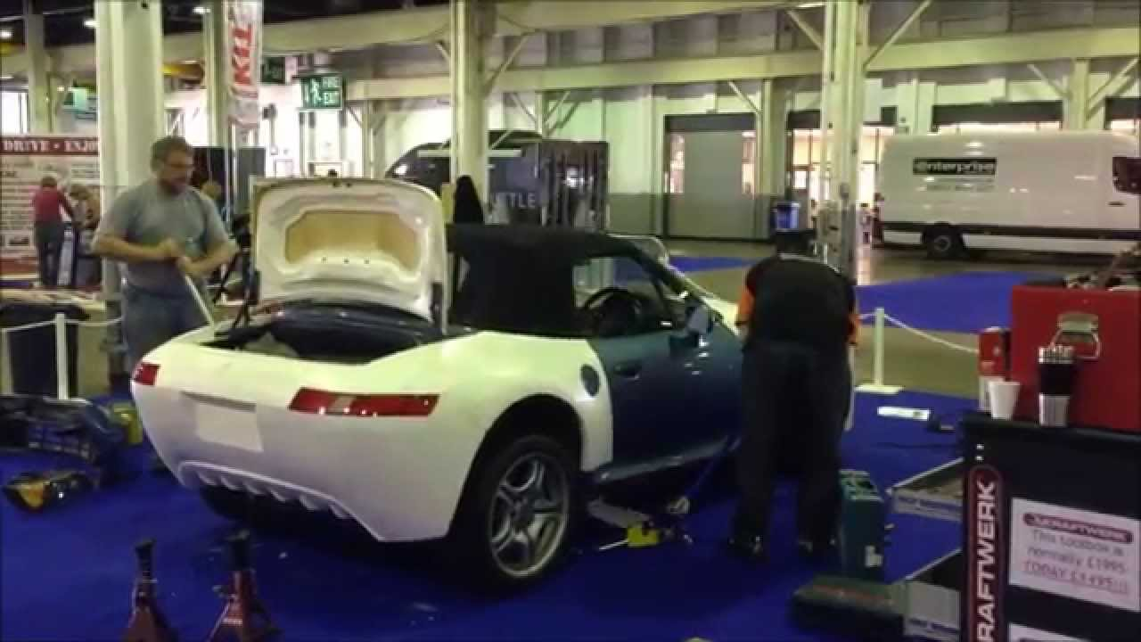 Bertini Gt25 Build At Donington Kit Car Show 2014 Youtube
