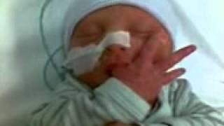 My baby Elina 4days old. 6weeks Premmie
