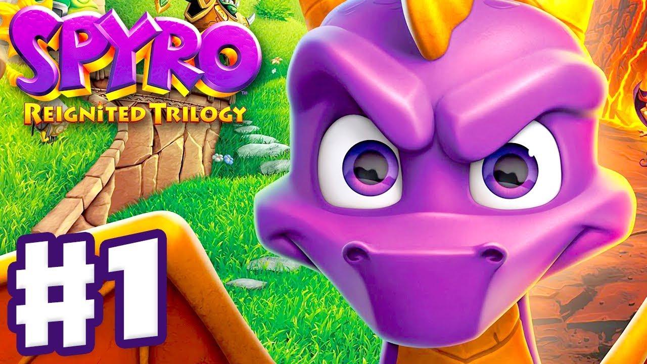 Download Spyro Reignited Trilogy - Spyro The Dragon - Gameplay Walkthrough Part 1 - Artisans (120%)