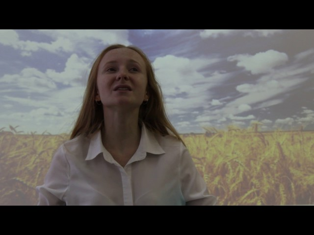 Изображение предпросмотра прочтения – ВикторияГолубева читает произведение «Когда волнуется желтеющая нива…» М.Ю.Лермонтова