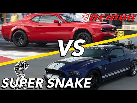 Demon vs Super Snake   AN ARGUMENT BREAKS OUT?!