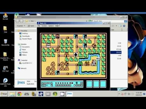 Jnes emulator tutorial - YouTube