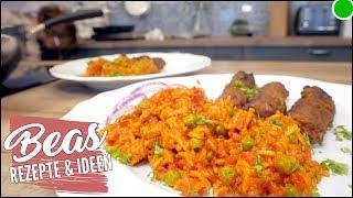 Djuvec-Reis Rezept | PaprikaReis 🍽 Kochsendung