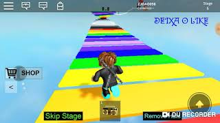 FIRST VIDEO OF CHANNEL 😉❤ (ROBLOX) PARKOUR