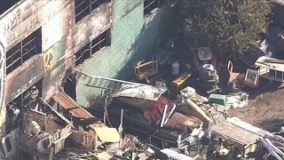 On the ground in Oakland after deadly warehouse fire