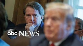 Fallout after judge rules former White House Counsel must testify | ABC News