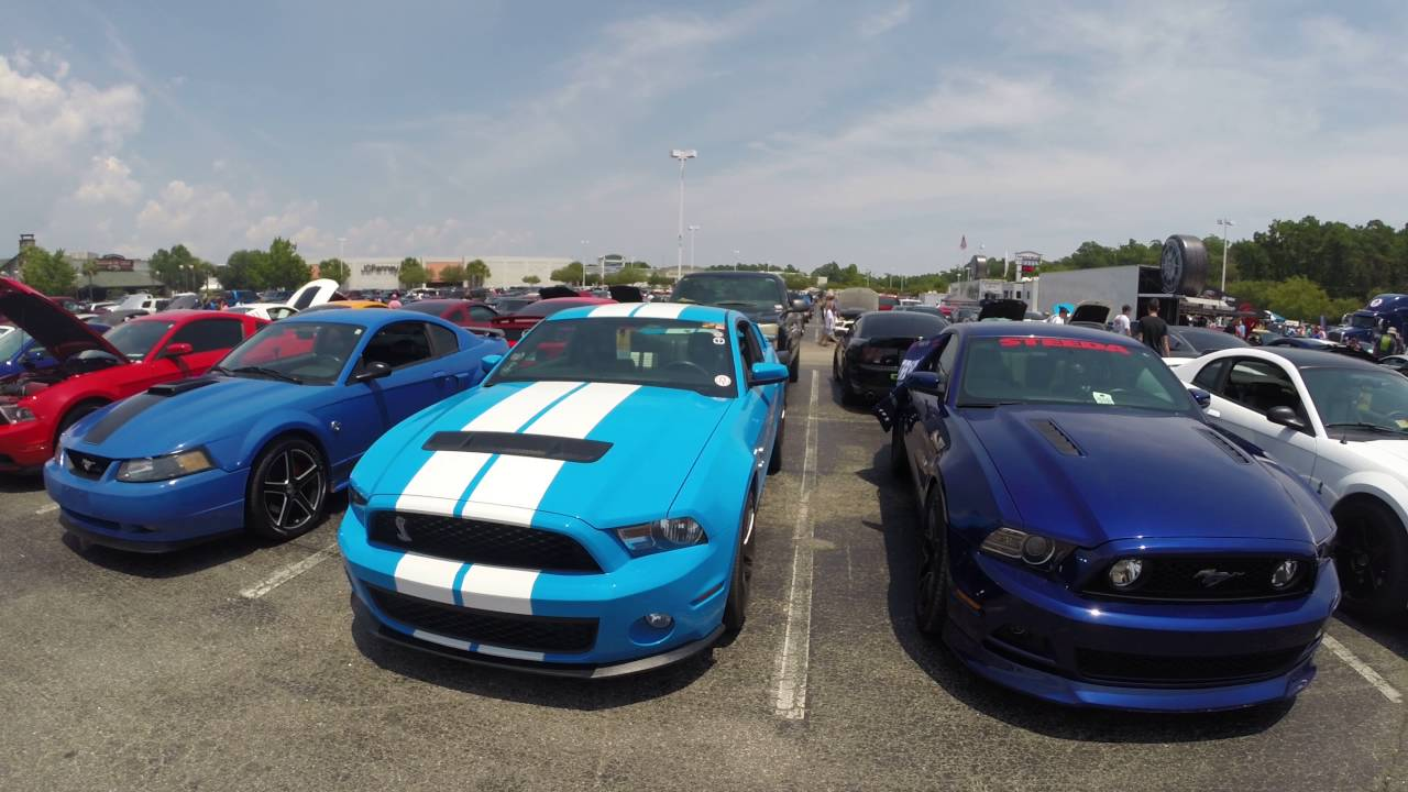 Mustang Week 2016 Myrtle Beach Sc Part 3