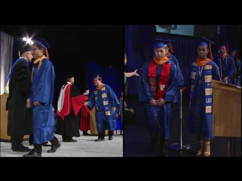 2016 UB School of Engineering and Applied Sciences Commencement, Part 2 of 2
