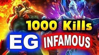 Gambar cover EG vs INFAMOUS - SumaiL FIRST 1000 TI KILLS!!! - TI9 INTERNATIONAL 2019 DOTA 2