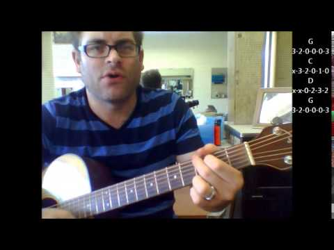 """How to play """"Yakety Yak"""" by The Coasters on acoustic guitar"""