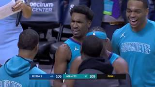 Malik Monk Hits Game-Winning Buzzer-Beater To Stun Pistons