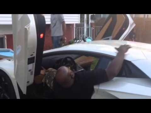 Fat Guy In Lamborghini   YouTube