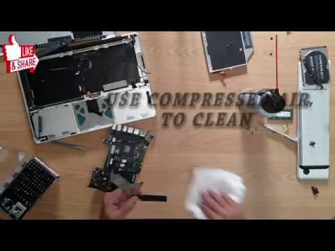 How to Clean & Inside MacBook / Pro