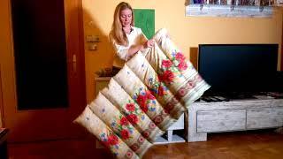 Жизнь в Австрии Как сшить самой одеяло и подушку Экономия семейного бюджета
