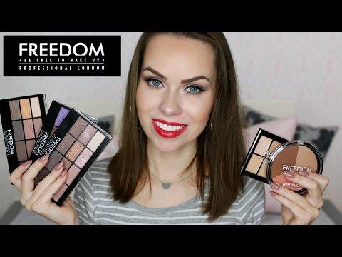 First impression: Freedom kosmetika + soutěž o 3 balíčky kosmetiky