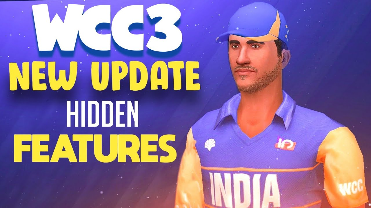 🔥 WCC3 New Update !! Some Hidden Features !! 30+Fps !!