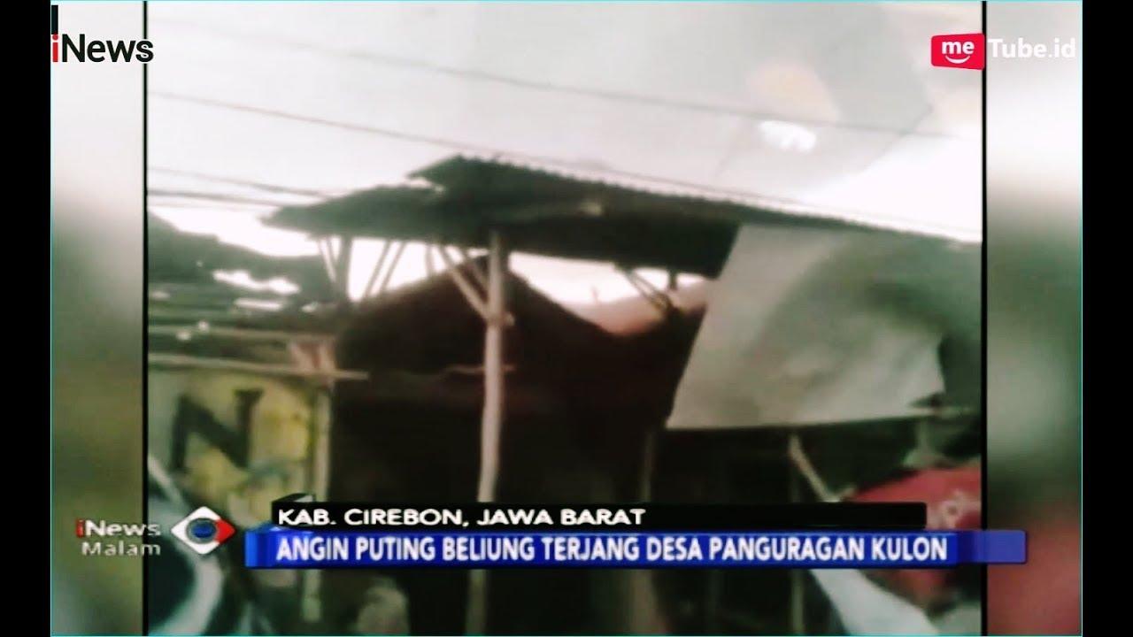 Puting Beliung Terjang Desa di Kab  Cirebon, 1 Tewas dan 165 Rumah Rusak -  iNews Malam 30/12