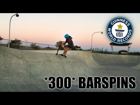 300+ BAR SPINS IN ONE VIDEO! (*RAW*)