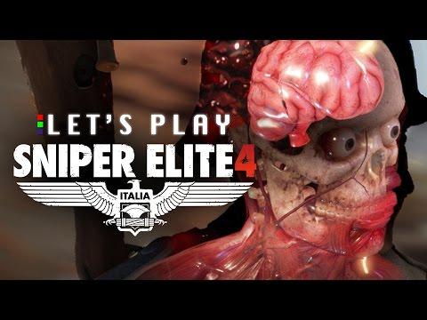 CO-OP HEADSHOTS - Sniper Elite 4 Co-Op Let's Play