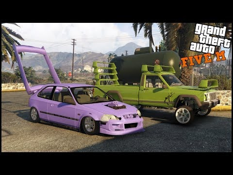 GTA 5 ROLEPLAY - CRAZY CAR BUILD OFF - EP. 677 - CIV