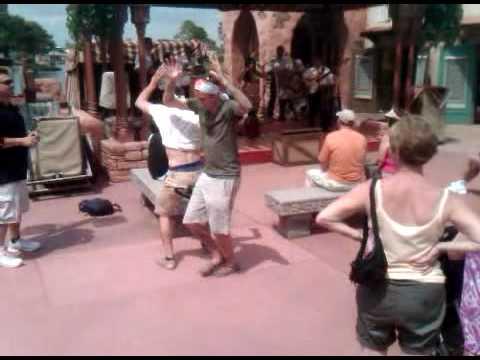 Drunk girls pull stripper