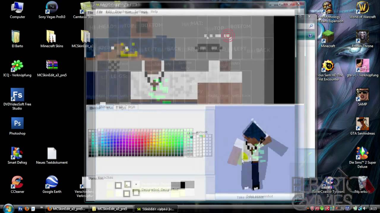 How to change your Minecraft character's appearance using ...