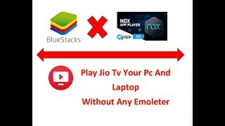 Play Jio Tv Pc And Laptop Without any Emulator  Watch And Enjoy !!