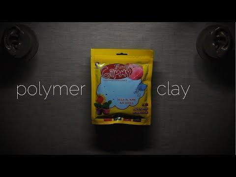 polymer clay - ASMR
