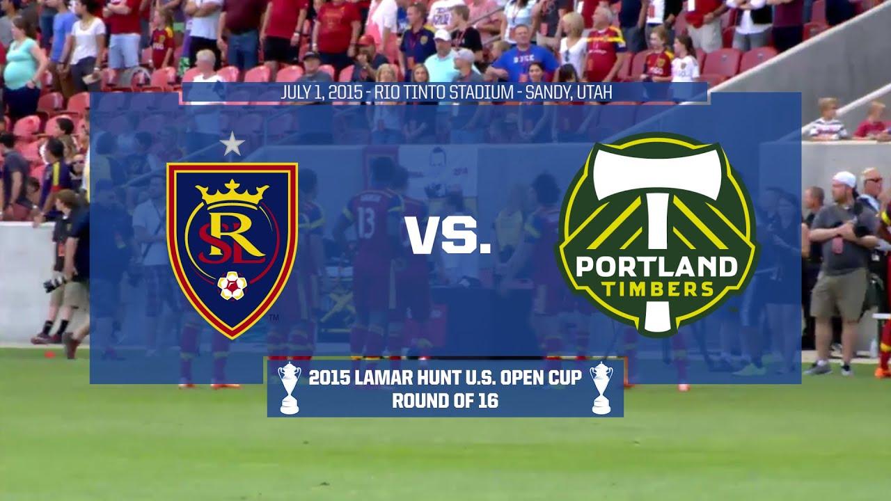 Real Salt Lake 2-0 Portland Timbers