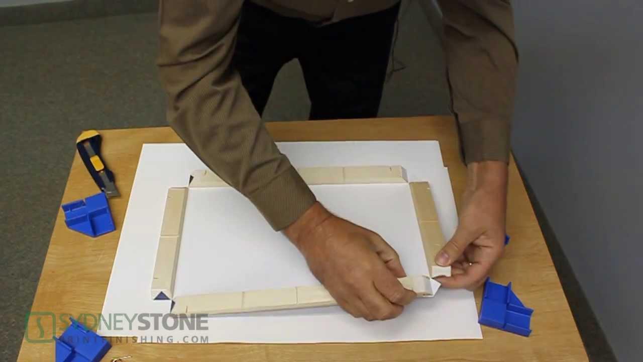 gallery wrap frame system sydney stone youtube