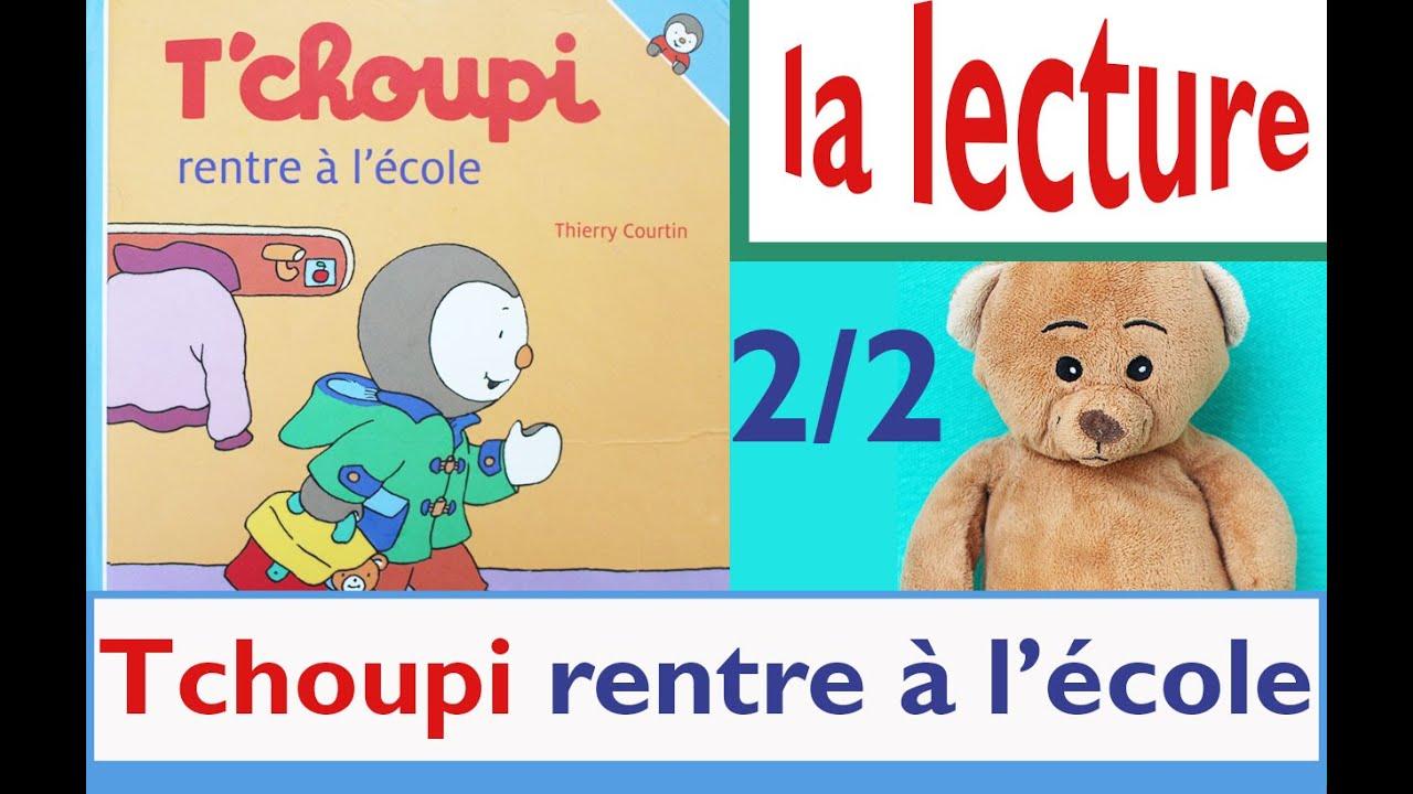 Nounours et la lecture tchoupi rentre l 39 ecole partie - Tchoupi a l ecole ...