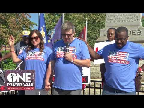 AsOne Prayer Walk 2017 McDonough/Henry County