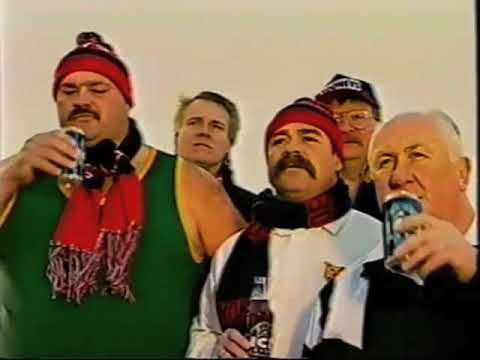 David Boon in 1996 Hahn Ice TV ad  1